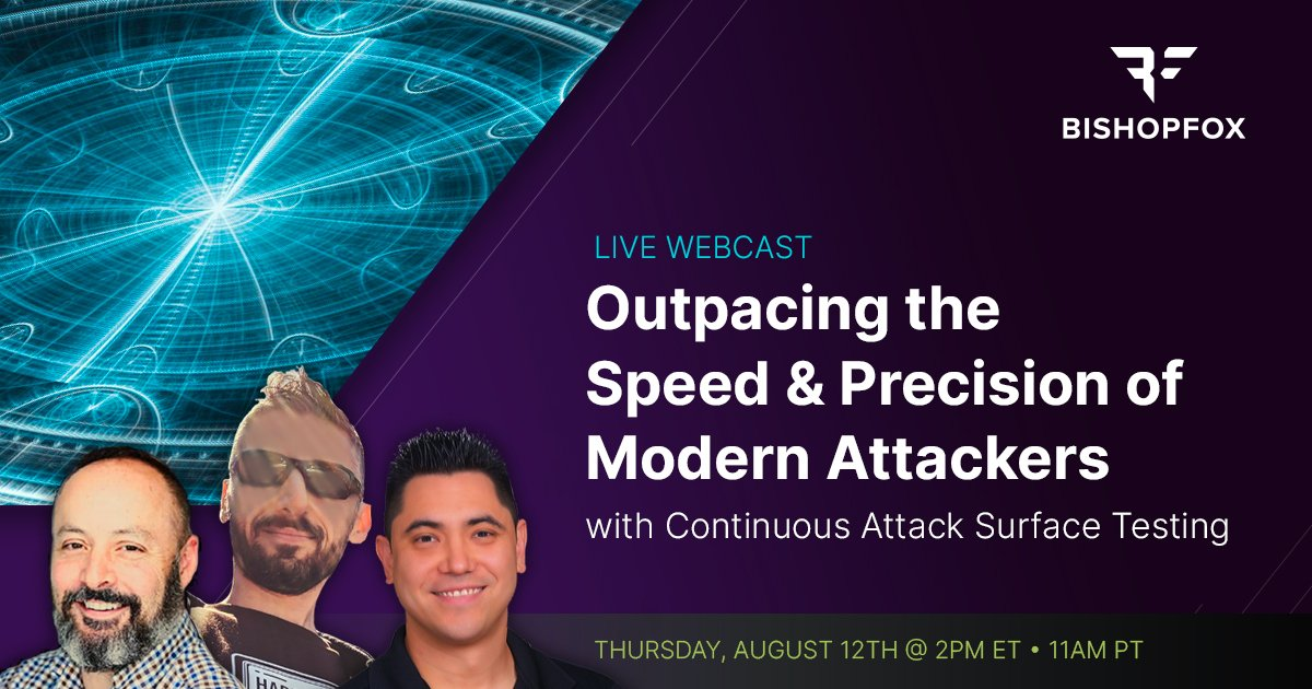 Webcast: Outpacing the Speed & Precision of Modern Attackers