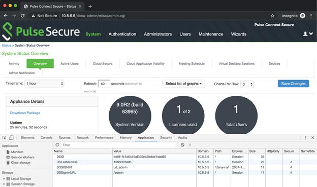 image 2 of Pulse Secure portal